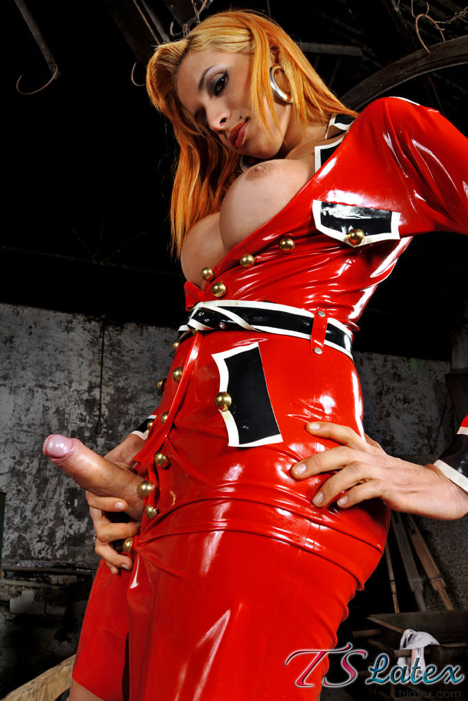 shemale on girl shemale latex
