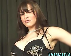 Tranny babe gets plowed