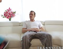 Big dick Chad Diamond fucking blonde tslut Isabella Sorrenti
