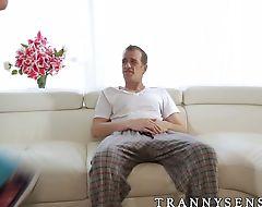 Big dick Chad Diamond fucking blonde tslut Isabella Sorrenti