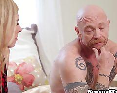 Smalltits tranny pussyfucking her lover