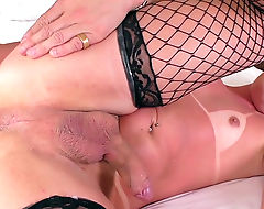 TS Lara Machado tight ass fucked deep