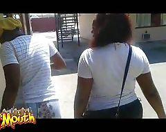 MsMouth Chicks Twerks Sleazy Hotel Pole