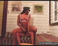 Shemale Enjoying A Cock