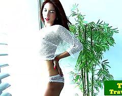 image Ladyboy tt reveals her smoking hot body