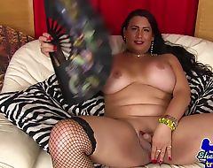 Petite Sandra Luberc Hypnotized by a Magic Remote Control and fucks you POV