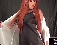 Redhead amateur tgirl pooldance and jerksoff