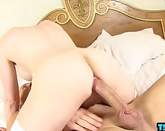 Hot shemale oral sex and facial cum