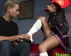 Shemale prostitute rimmed