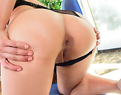 Sultry Asian shemales Mia Li and Mara Nova ass fucking