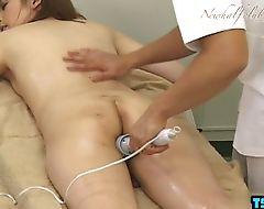 Asian ladyboy hardcore anal with cumshot