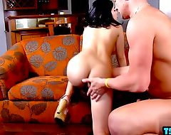 Hot shemale sex and cumshot