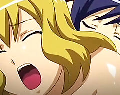 Busty anime shemale juicy sex hardcore in bed