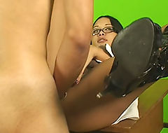 for that pantyhose twins blowjob dick and facial protest against it. agree
