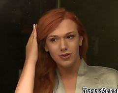 Trans redhead cum covered