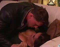 Latina ts Jessy Dubai gets a hard anal fuck with Roman