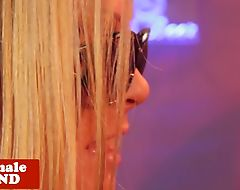 Perfect tranny assfucked deeply by bartender