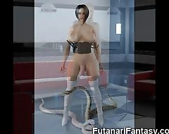 3D Futanari and Shemale Fantasy!