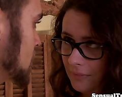 Spex tgirl doggystyle drilled by male