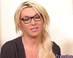 Cummy transgender bbc