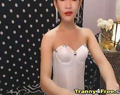 Awosome Sexy Tranny Jerks