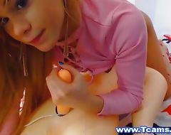 Hot Blonde Tranny Fucks Her Sex Doll
