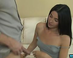 Hot transsexual anal and cumshot