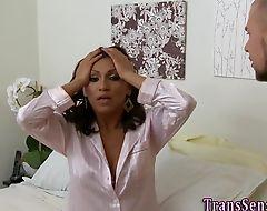 Jizzed latina transgender