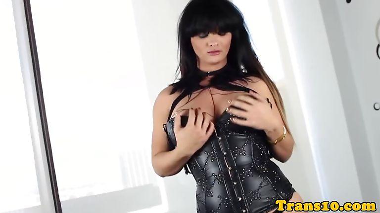 Shemale corset tube