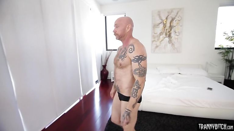 Glamorous busty shemale babes fucked a trans dudes cunt - Shegods