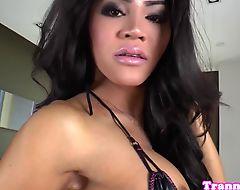 Bikini trap beauty analfucked doggystyle