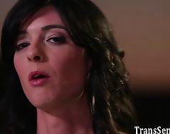 Lesbian tranny sucked