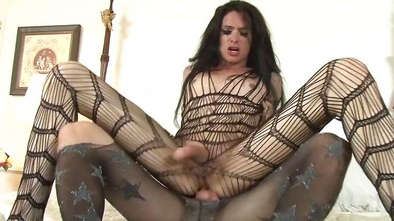Skinny shemale anal