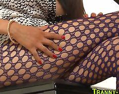 Tgirl prostitute tugging