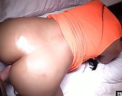 Hot ladyboy anal sex and cumshot