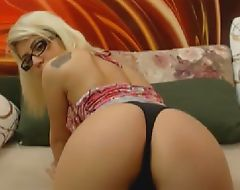 Innocent Sexy Shemale Stripteased on Cam